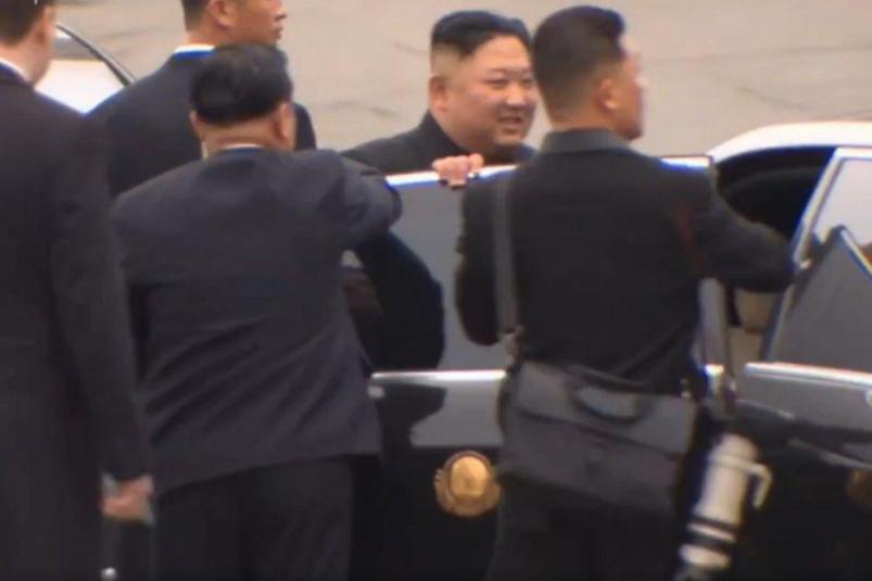 Ким Чен Ын прибыл во Владивосток (ФОТО, ВИДЕО)