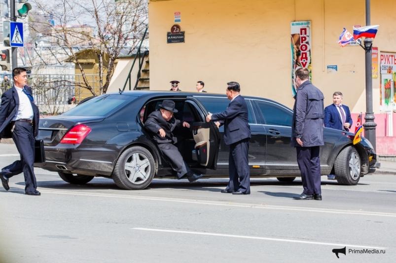 Запад взбесили санкционные Maybach Ким Чен Ына во Владивостоке