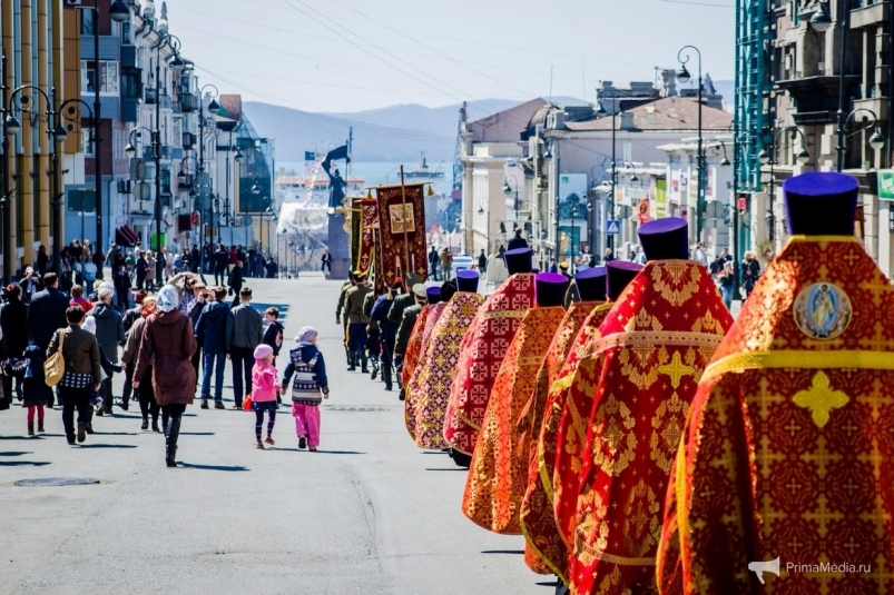 Ночная служба и дневные народные гуляния: во Владивостоке состоится празднование Пасхи