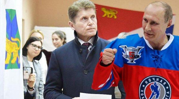 Путин - фаворит! Кожемяко может принять участие в матче «ночной хоккейной лиги» в 2020 году