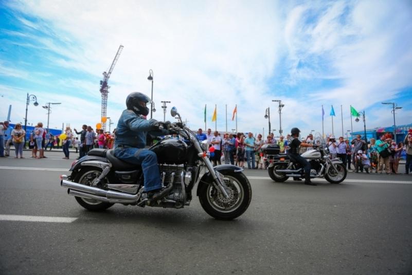 Движение в центре Владивостока ограничат из-за открытия мотосезона 4 мая