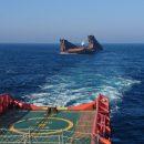 Плавучий док весом 6 тысяч тонн затонул в Японском море по пути в Корею
