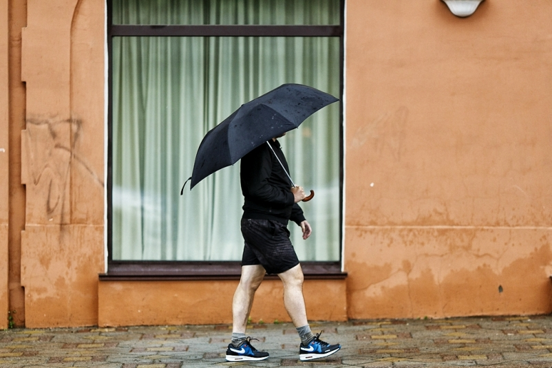 Дождь во Владивостоке начнется сегодня вечером