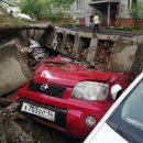 Подпорная стена на Ладыгина погребла под собой около 2,4 млн рублей