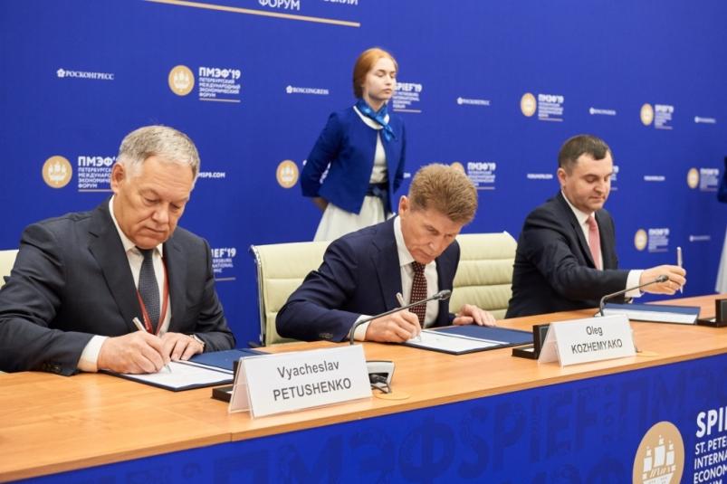Соглашение по реализации проекта ВКАД подписали на ПМЭФ-2019