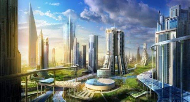 В Саудовской Аравии построят умный город с летающими такси и искусственной луной